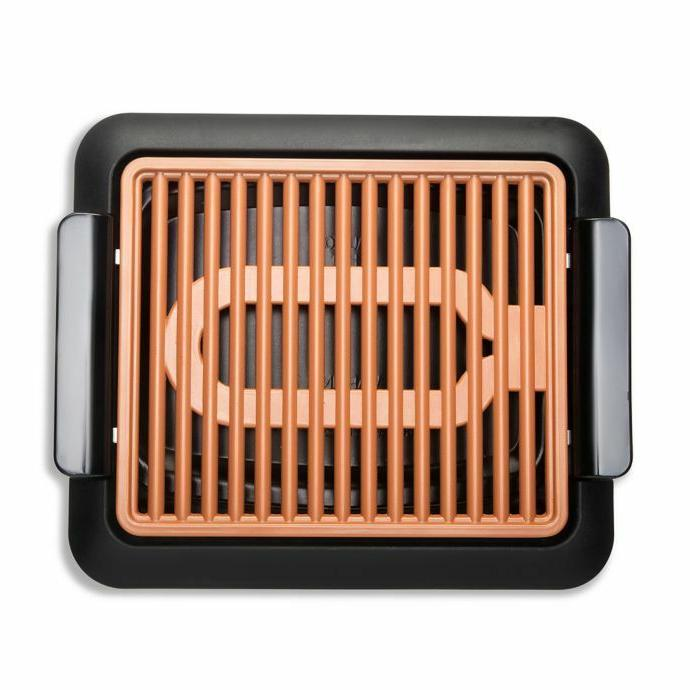 non stick smokeless indoor electric bbq grill