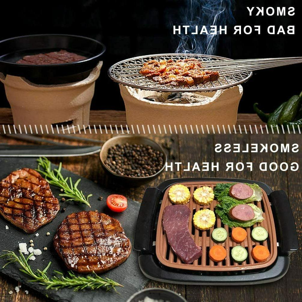 Nonstick Electric Grill Grills