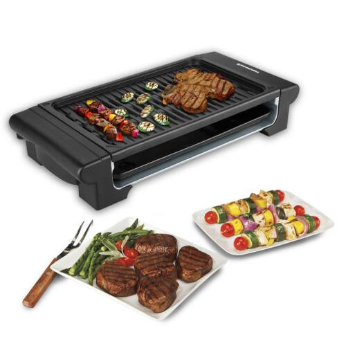 Excelvan Portable Electric Camping Picnic Grill Indoor/Outdo