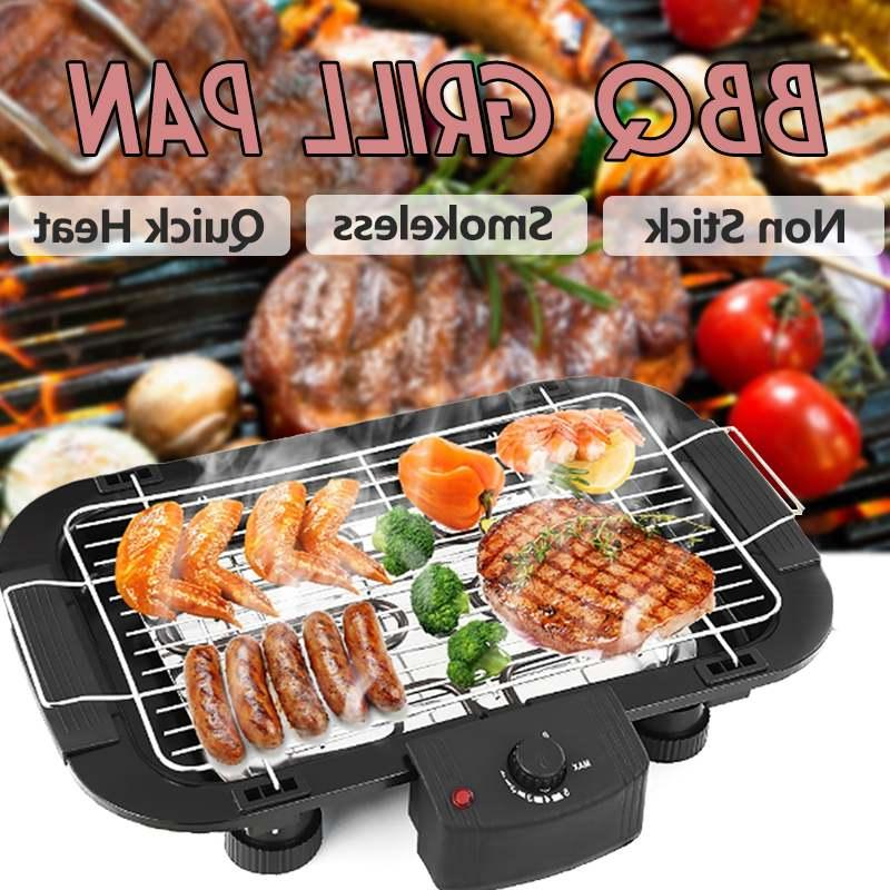 Outdoor Electric Pan <font><b>Grill</b></font> Stove Electric <font><b>Griddle</b></font> 5 Temperature for Home Camping
