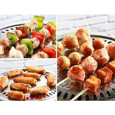 Smokeless BBQ Barbeque Kitchen Barbecue Griddle