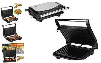 panini press grill 750w multifunctional household grill