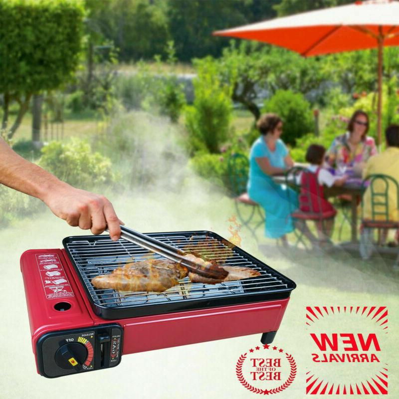 Portable BBQ Smokeless Stainless Steel For picnic