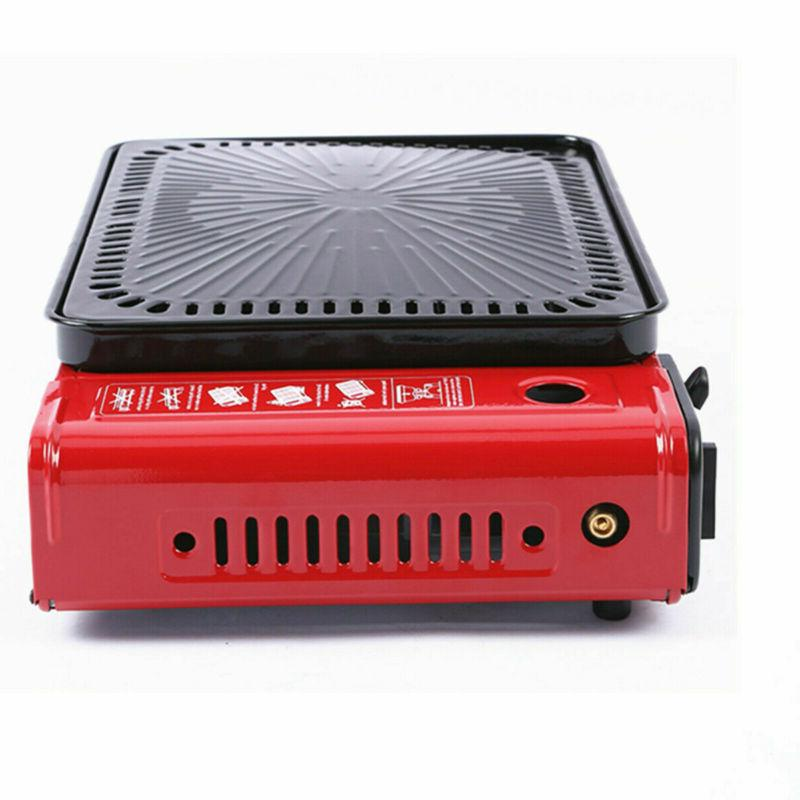 Stainless Steel Grill Gas Stove Portable Outdoor Home