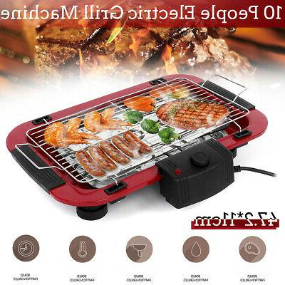 portable electric bbq grill griddle indoor outdoor