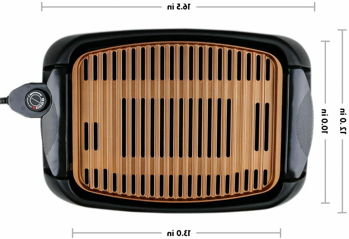 Portable Grill Indoor Smokeless Compact