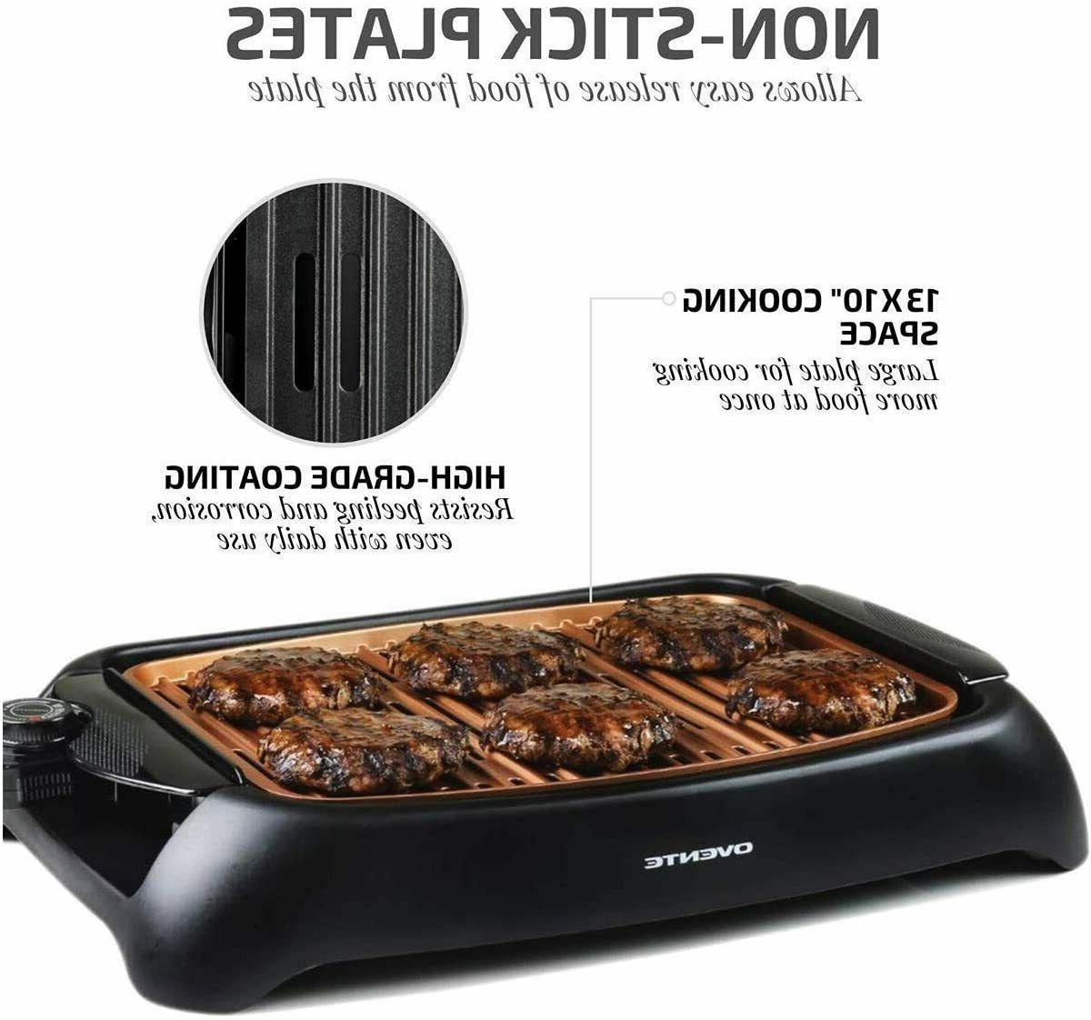 Portable Grill Indoor Griddle Compact