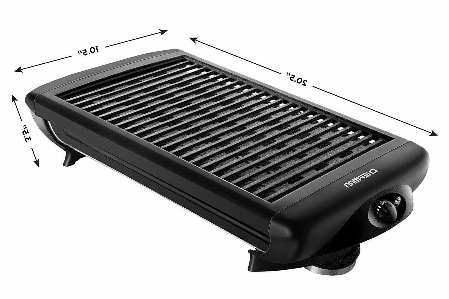 Portable Indoor Smokeless Griddle Compact Barbecue