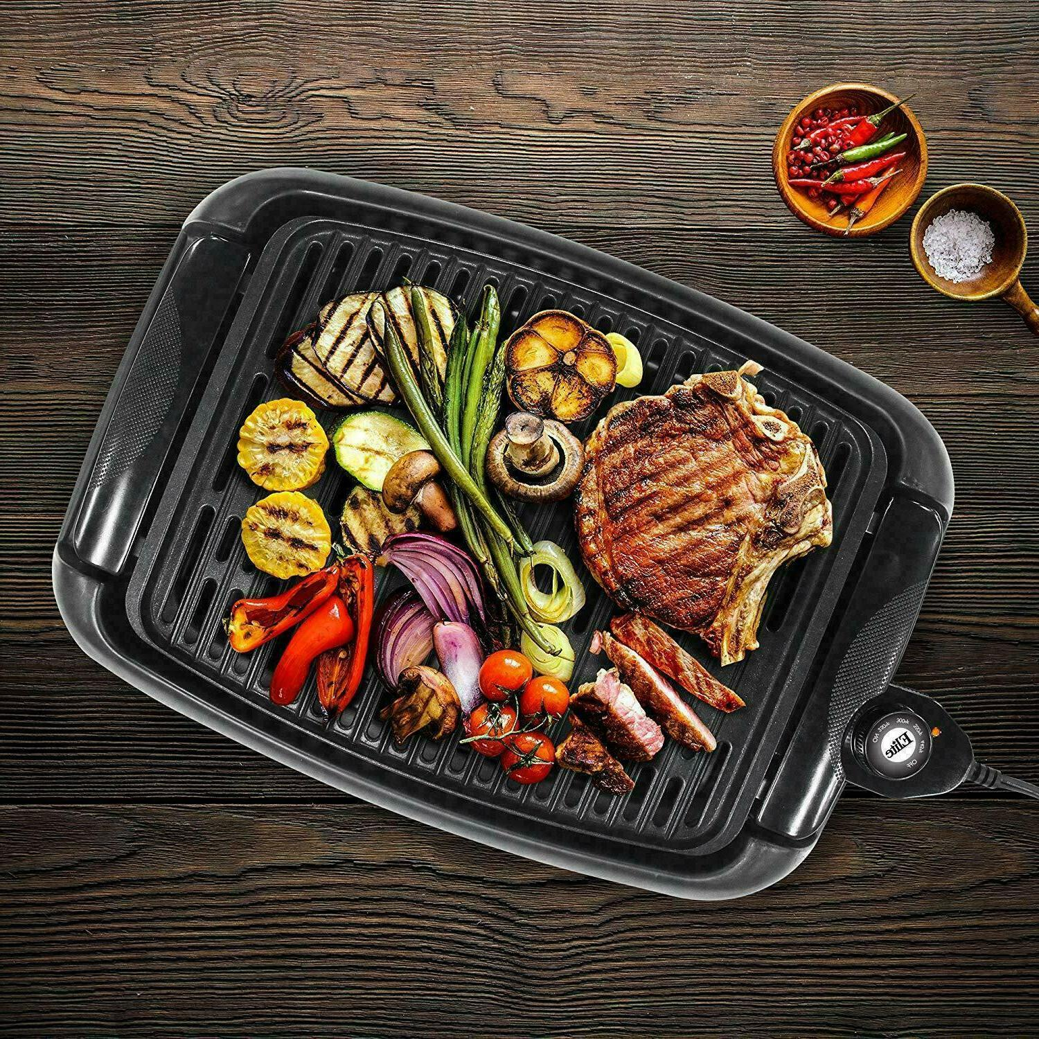 Portable Electric Grill Indoor Compact