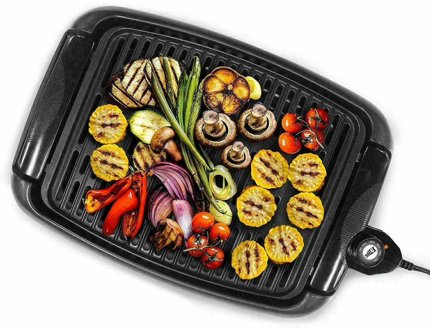 Portable Grill Indoor Outdoor Smokeless Compact