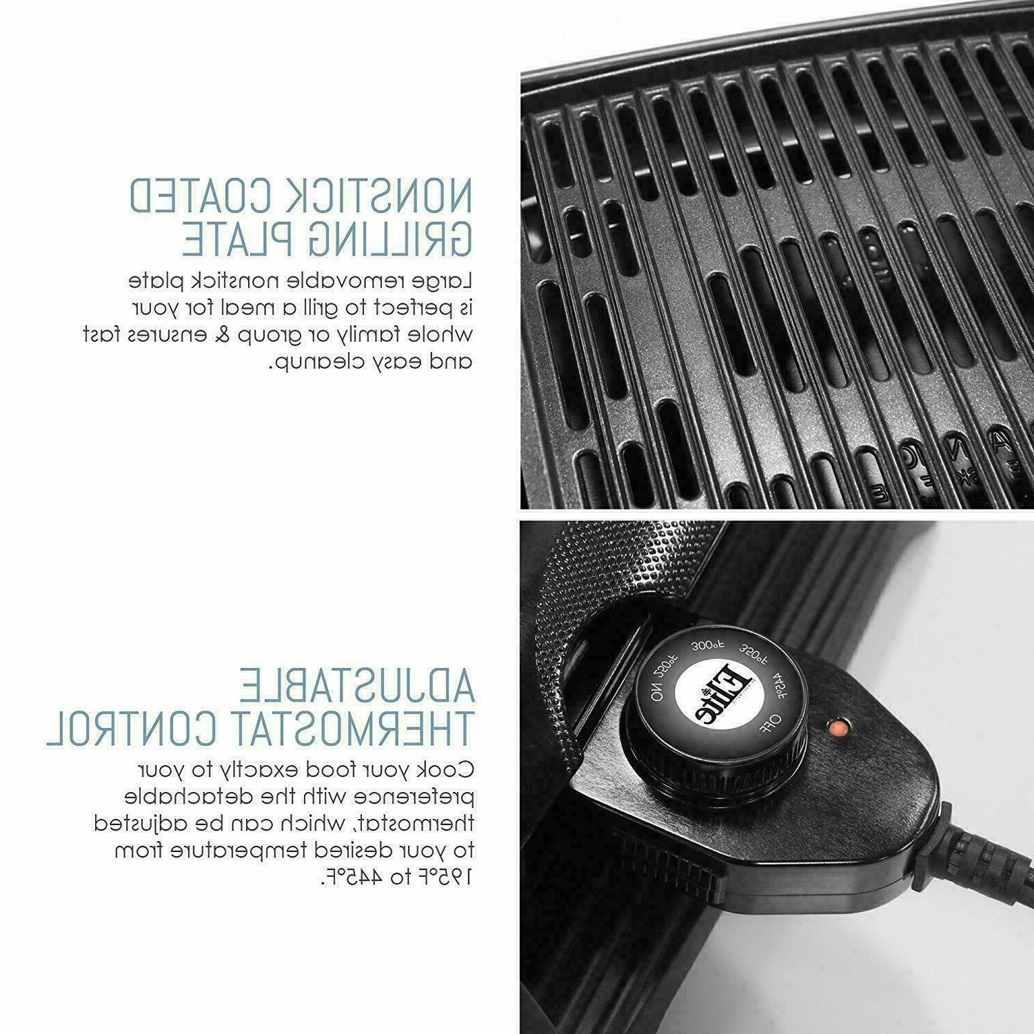 Portable Grill Indoor Compact Barbecue