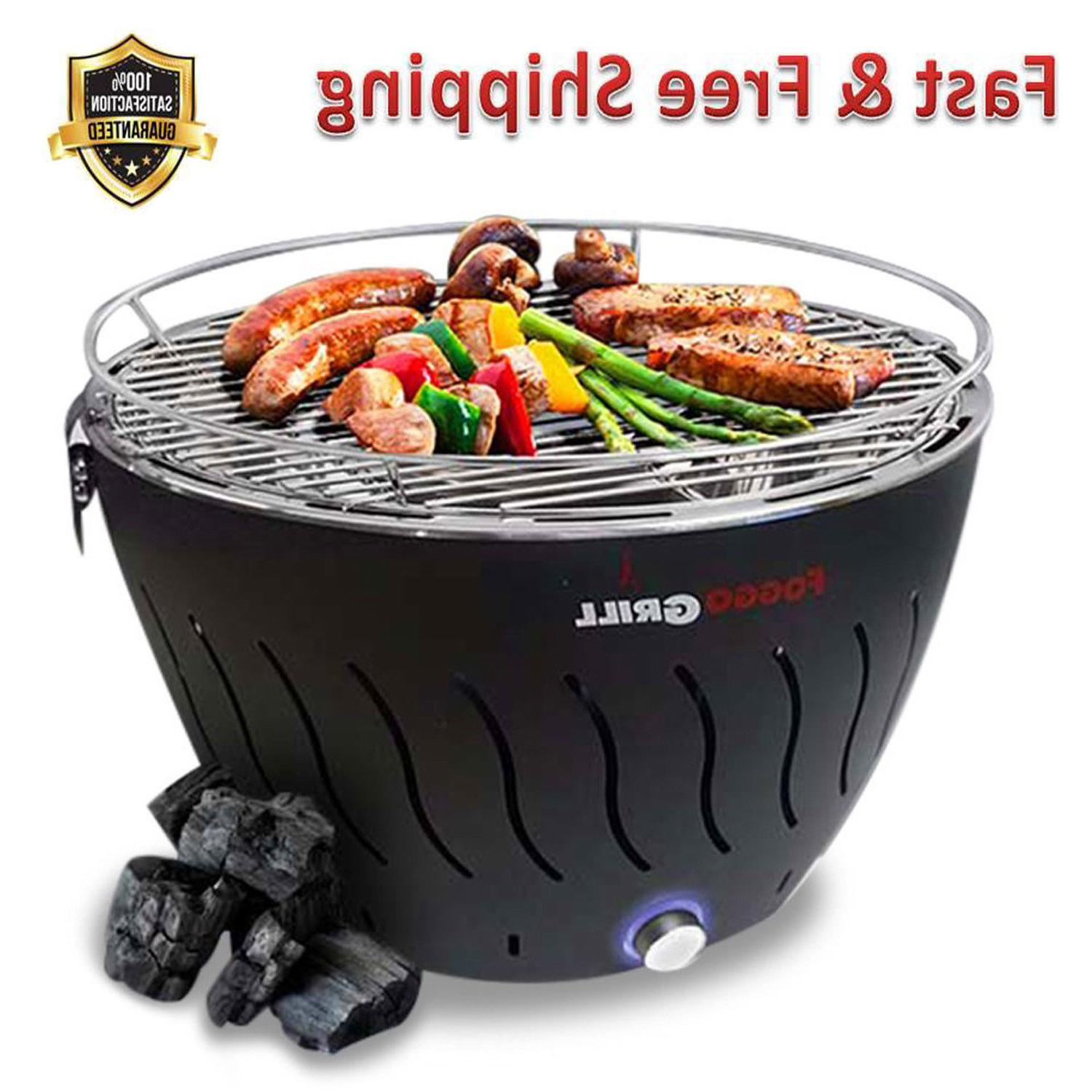 portable grill smokeless stainless steel electric indoor