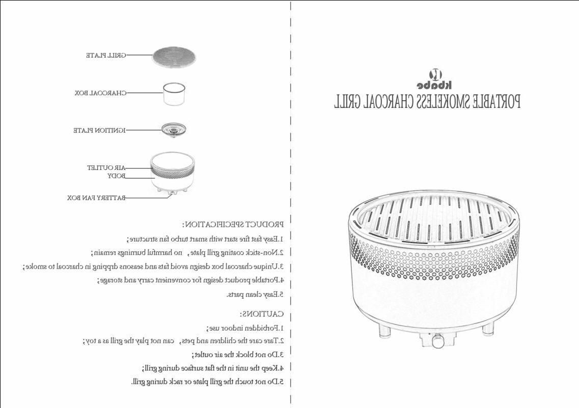 Portable Barbecue Grill Outdoor