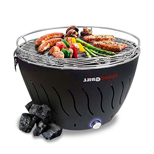 portable smokeless stainless steel electric