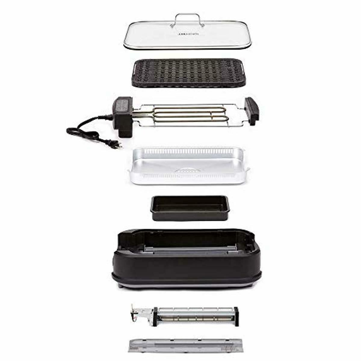 Power Grill Tempered Interchangeable Plate