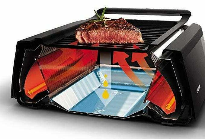 Power Grill Tempered Interchangeable Griddle