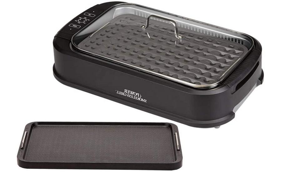 power xl smokeless electric indoor removable grill