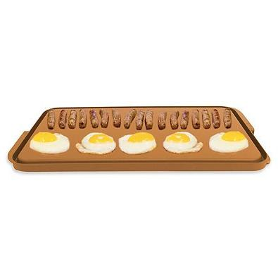 Gotham Steel Reversible Double Grill/Griddle