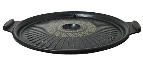 round marble grill pan