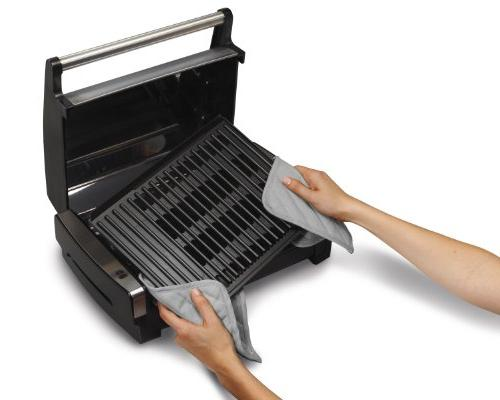 Hamilton Beach Searing Grill with Lid Viewing