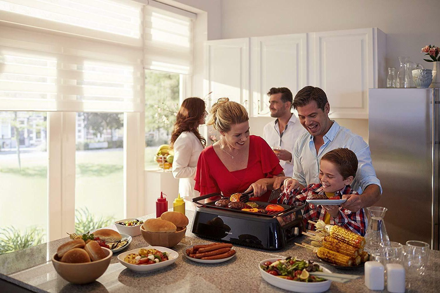Philips Smoke-less Grill Avance Collection Oprah's
