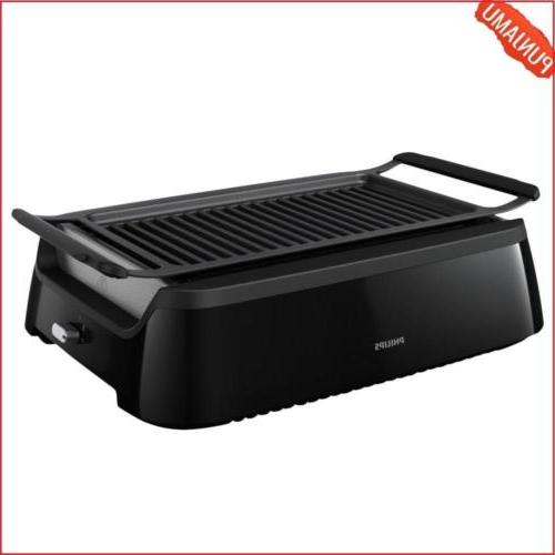smoke less indoor grill stainless steel design