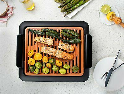 Gotham Grill Non-Stick Surface Indoor BBQ TV