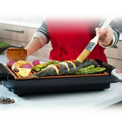 Smokeless Grill Portable Nonstick Indoor Outdoor BBQ Barbecue Camping