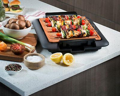 "16"" x Electric Grill with Ti-Cerama Indoor"
