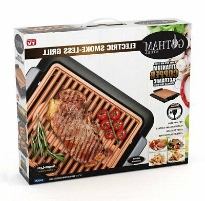 Gotham Steel Smokeless Electric Grill BBQ As Seen TV