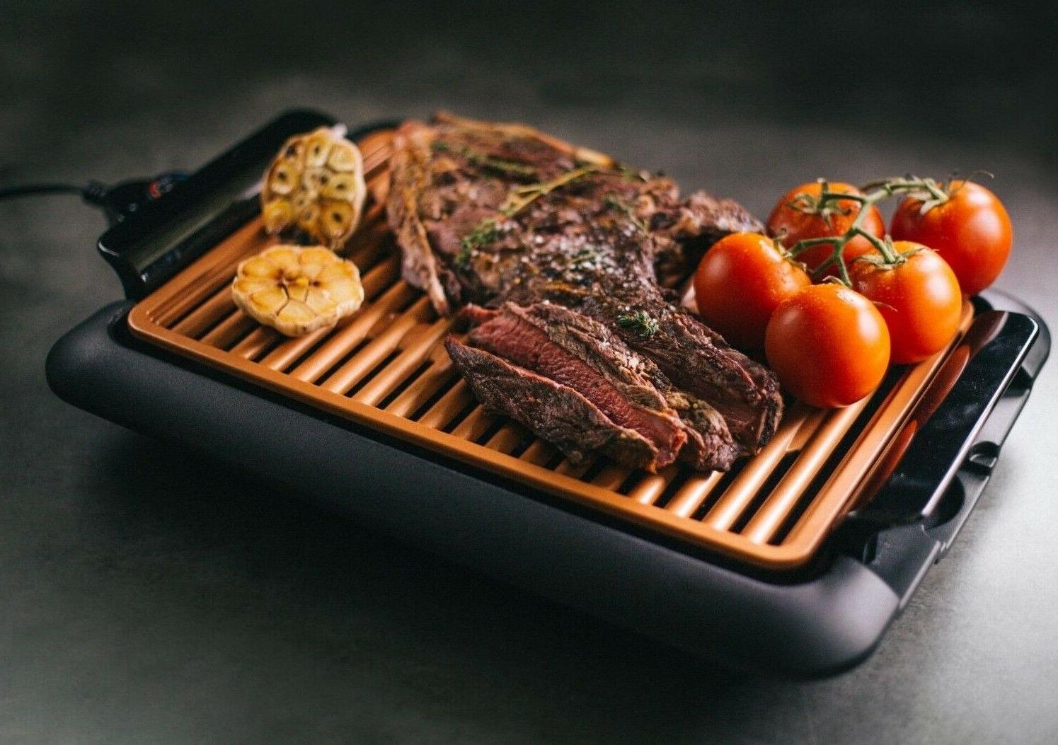 Gotham Smokeless Electric Indoor Grill Portable -As Seen TV