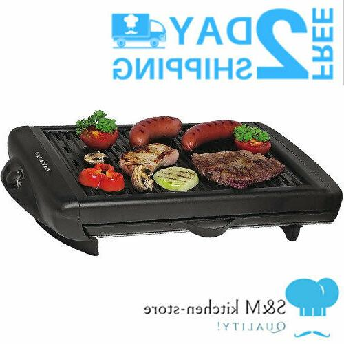 smokeless home electric grill fryer fat free