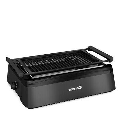 smokeless indoor bbq grill w advanced infrared