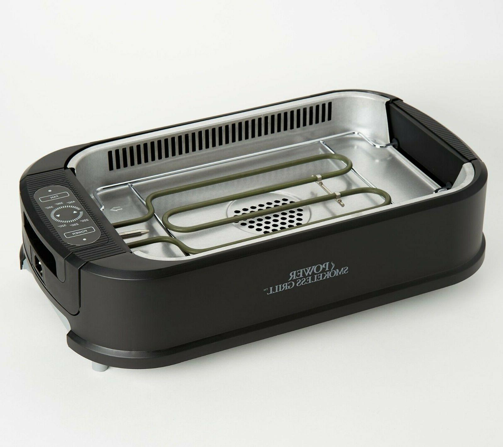 Power Indoor Grill Tempered Extractor 1500W