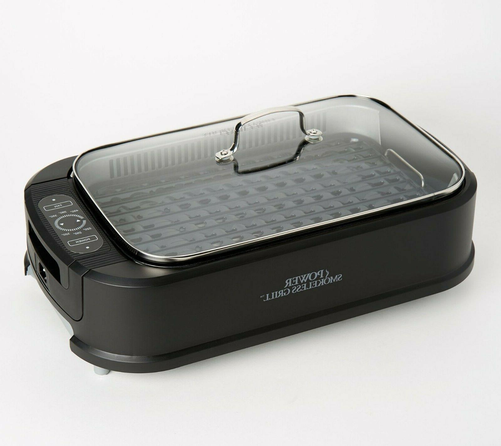 Power Grill Tempered Glass Extractor