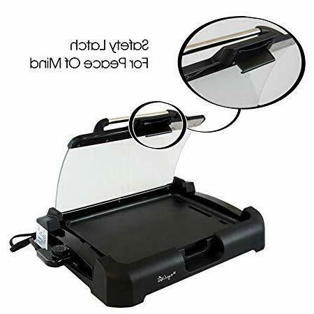 Smokeless Indoor Electric POWER Watts XL Non-Stick AS ON TV