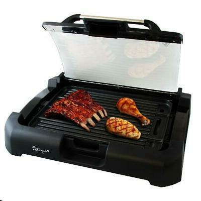 INDOOR GRILL GRIDDLE Smokeless BBQ Portable Electric POWER B