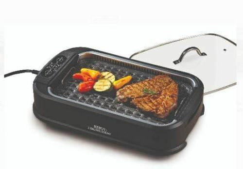 Smokeless Electric Grill Cerami-Tech Dishwasher Safe
