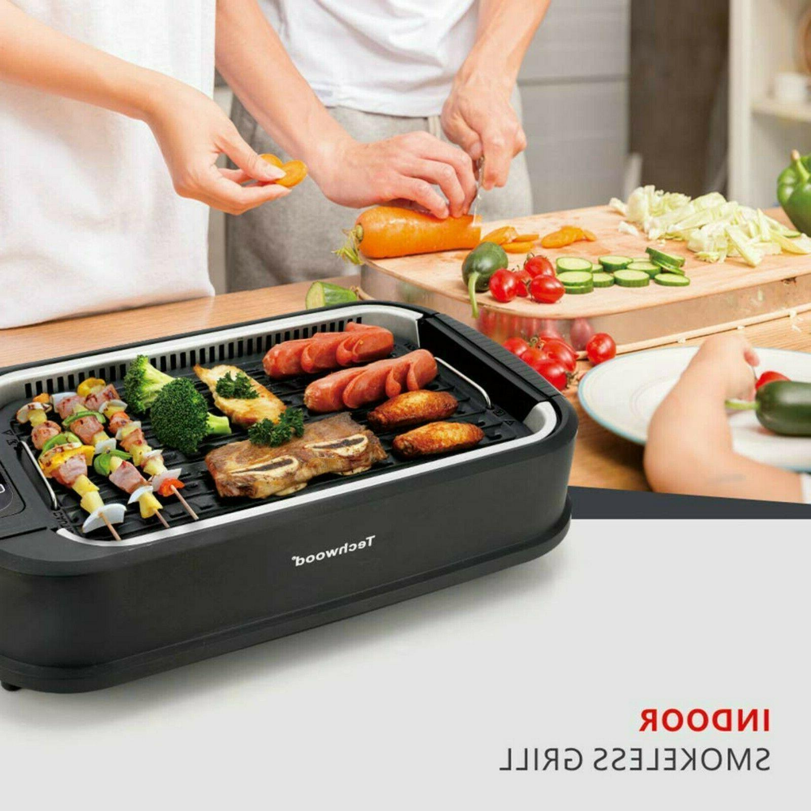 Smokeless Electric POWER Watts Non-Stick BBQ ON