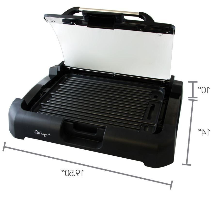 Smokeless Electric Grill POWER 1700 Non-Stick AS ON