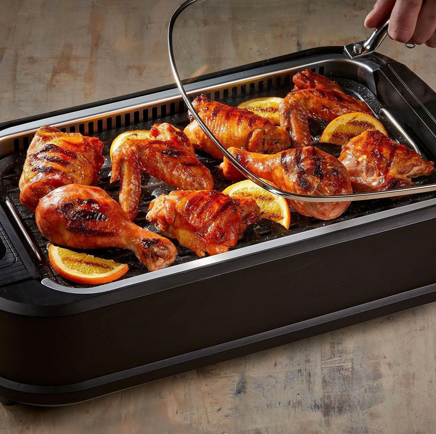 Power Smokeless Indoor Electric with Non-Stick Tristar