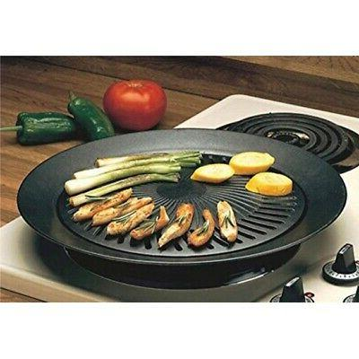 Smokeless Stove Grill - Healthy Kitchen Stovetop Indoor Imperial Home