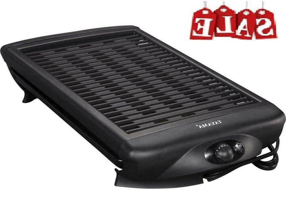 smokeless indoor stove top grill nonstick bbq