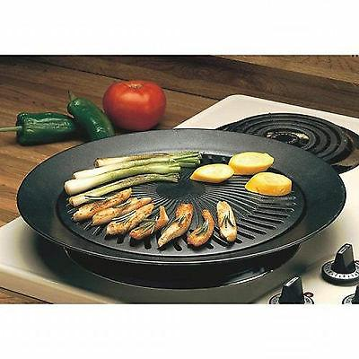 Smokeless STOVETOP BBQ GRILL Pan Griddle