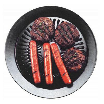 Smokeless Non-stick Barbecue Grill Roaster Pan Stove Plate B