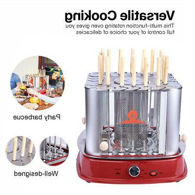 stainless steel electric vertical bbq grill home