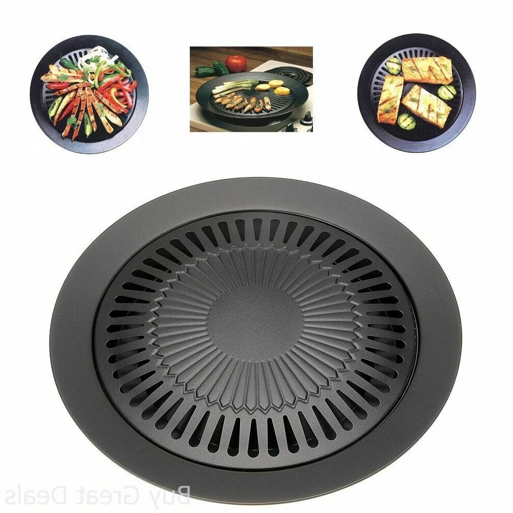 Stovetop Grill Indoor Smokeless Outdoor Kitchen Top For Stov