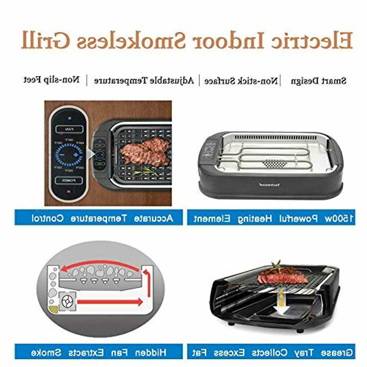 Techwood Grill with Smoke Extractor Technology