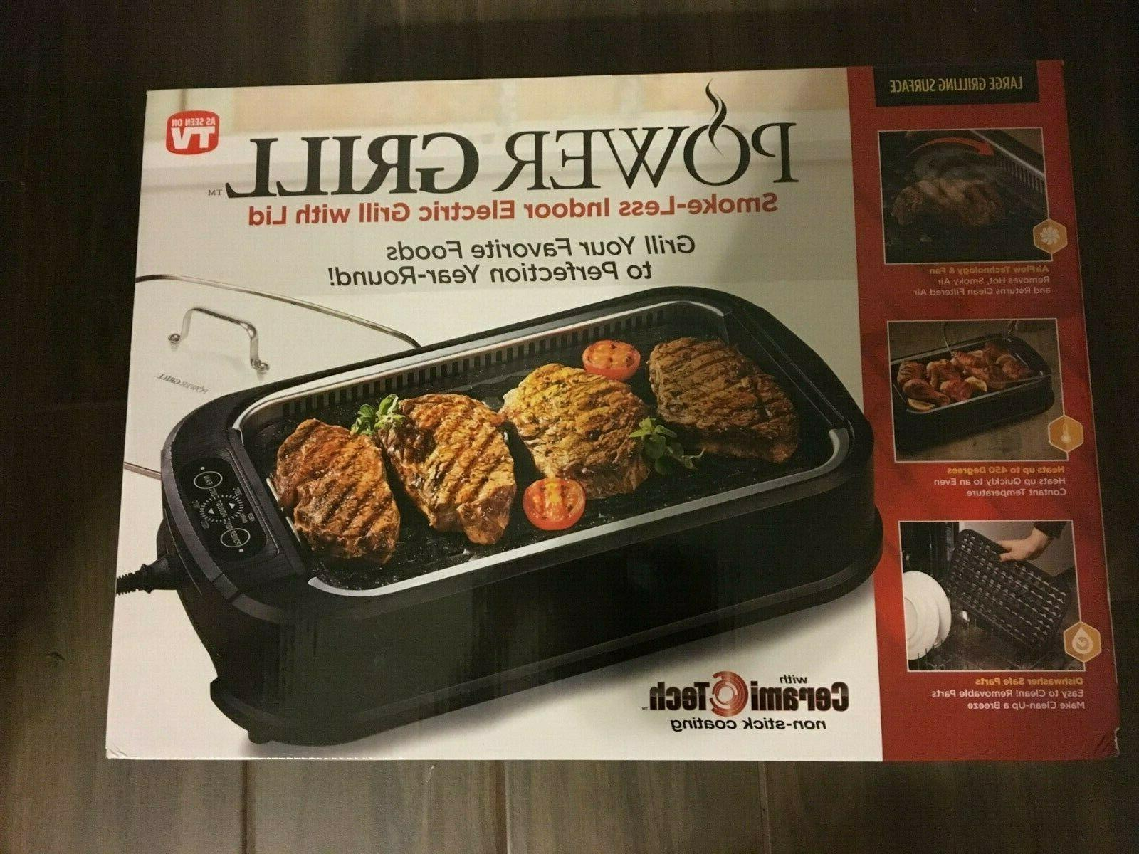Tristar Indoor Electric Grill with Tempered Lid