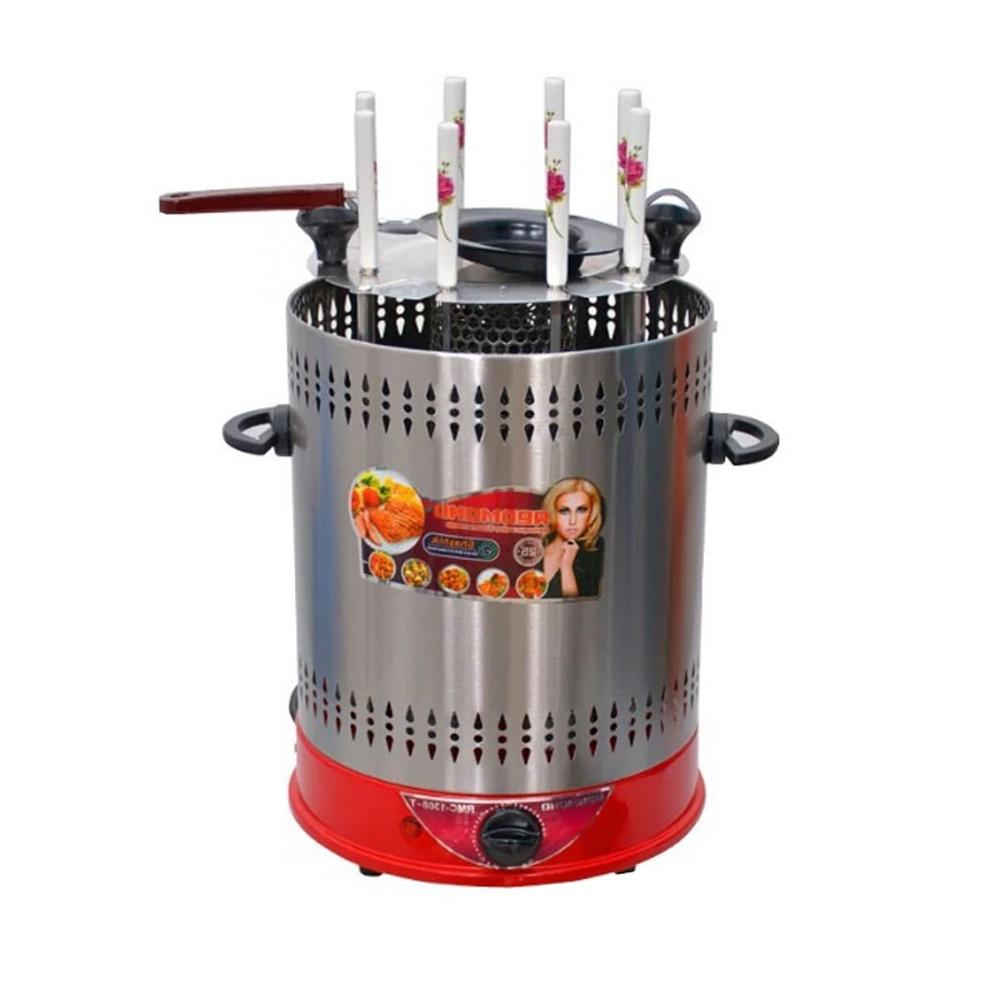 vertical rotisserie roaster oven smart electric bbq
